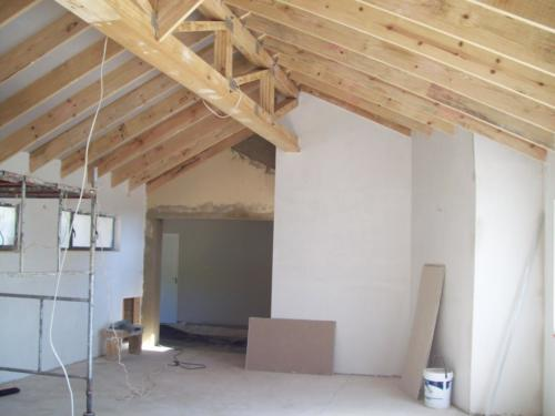 timber frame internal